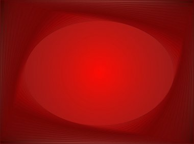 Red abstract background: transformation of rectangle to ellipse stock vector