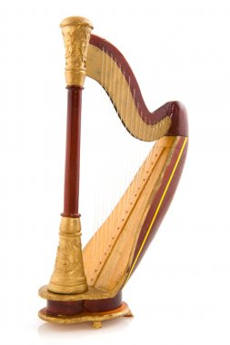 Decachord or harp