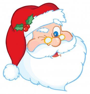 Santa Winking