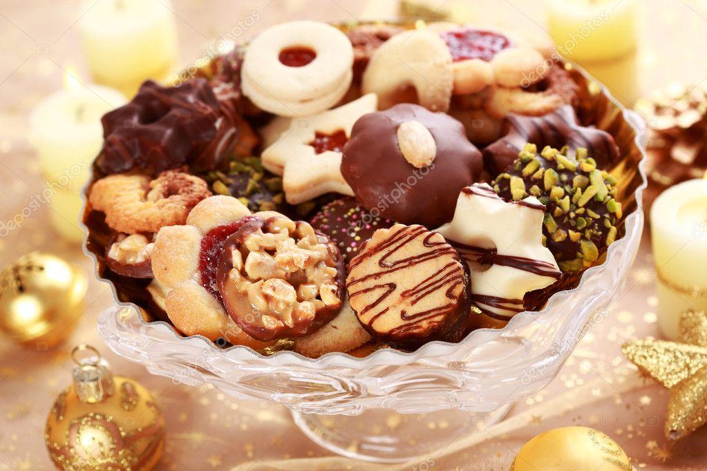 Delicious Christmas Cookies Stock Photo C Brebca 4176799