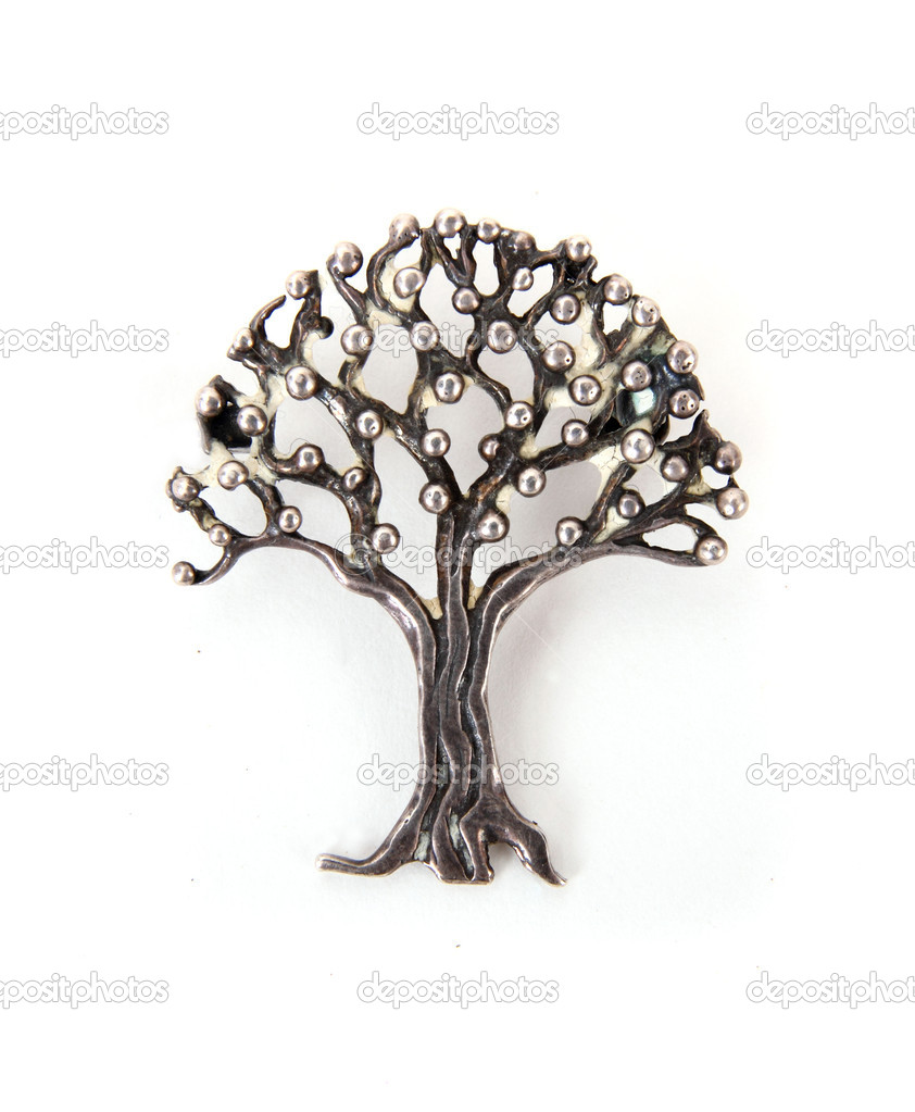 jewellery ros product of tree silver mari brooch image