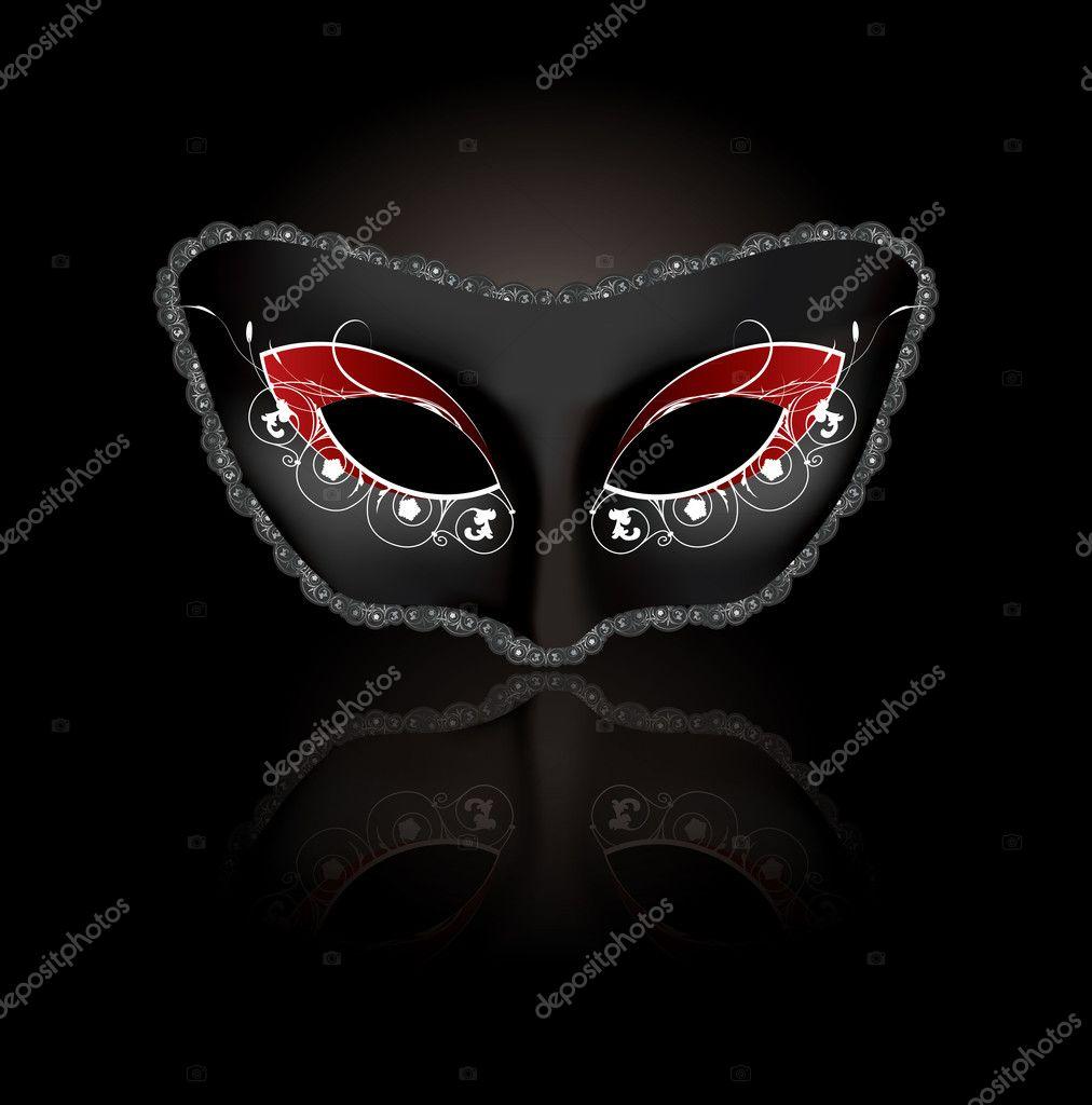 Carnival mask in vector format