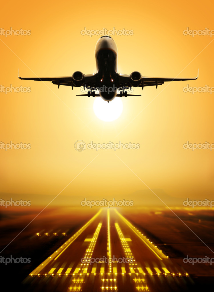 Take-off runway
