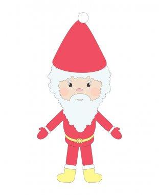 Santa, isolated