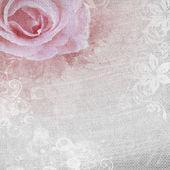 grunge romantické pozadí s růží