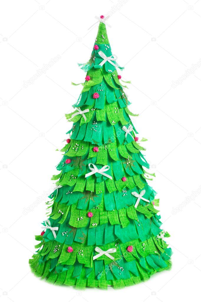 Картинка поделка елка своими руками