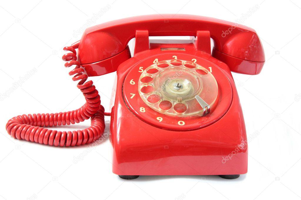 image Telefono rosso red telephone
