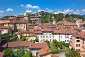 Fotografia Veduta di bergamo alta, Italia