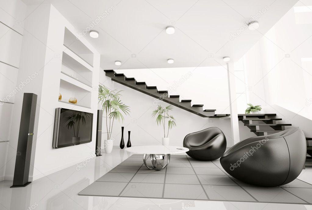 Rendering 3d interni di soggiorno foto stock scovad for 3d interni