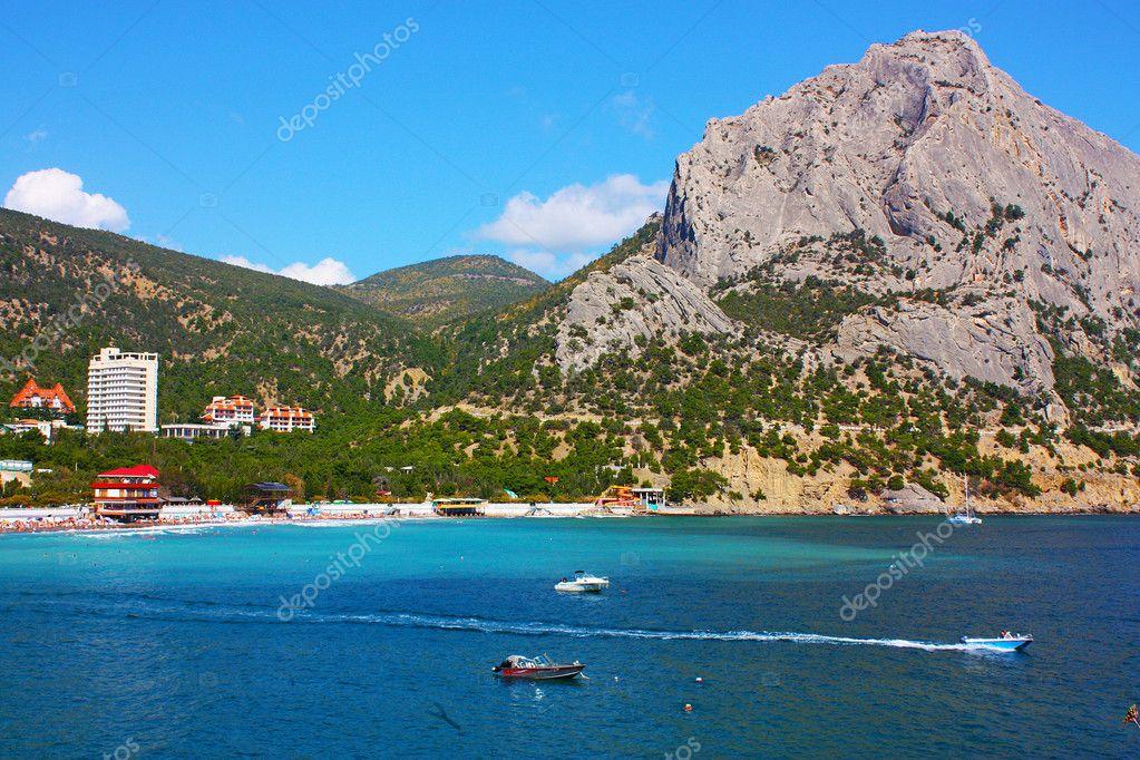 Amazing landscape of the Black Sea