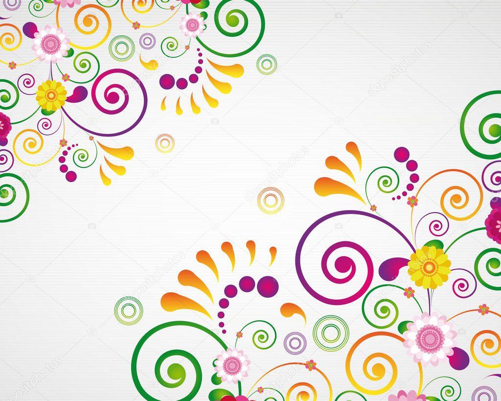 V card background images - Gift Card Floral Design Background Vector By Olgayakovenko