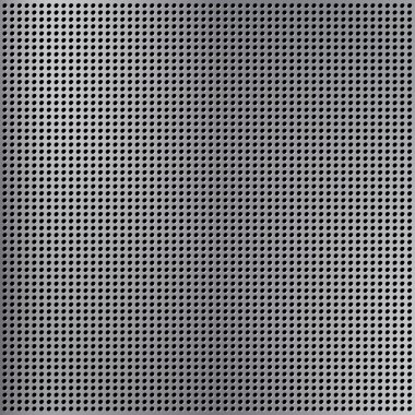 Round cell metal background.
