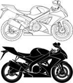 Fotografie motocykl