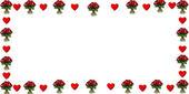 srdce a růže