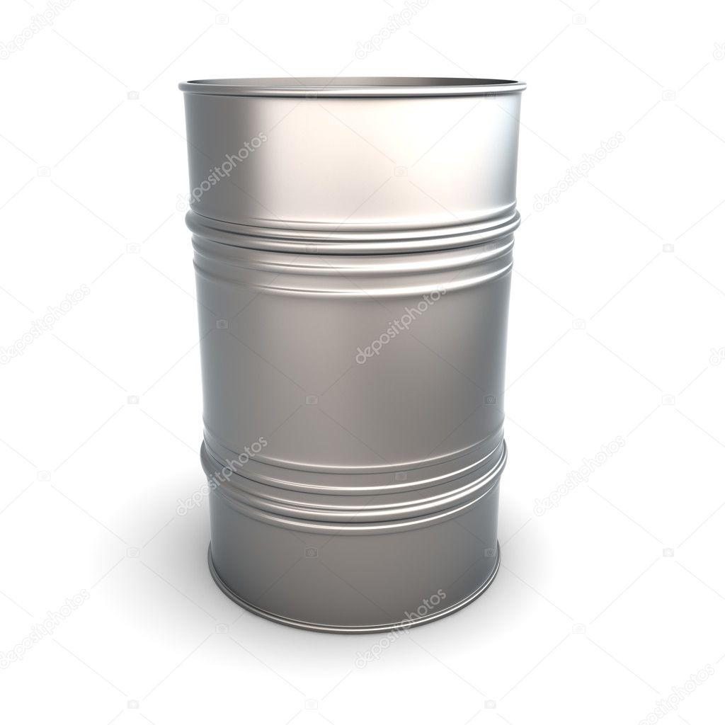 Ένα βαρέλι πετρελαίου. 3D τετηγμένα εικονογράφηση. απομονωθεί σε λευκό —  Εικόνα από Spectral 4a57d0bfa88