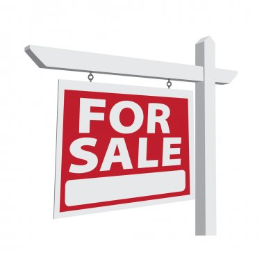 For Sale Vector Real Estate Sign