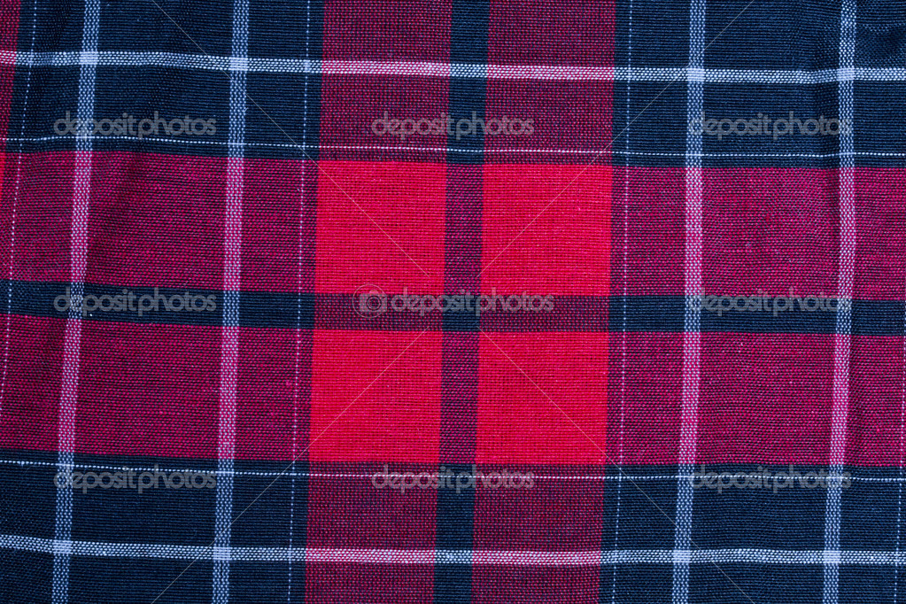 Texture Of Red Black Checkered Fabric Stock Photo Ibphoto 4244503
