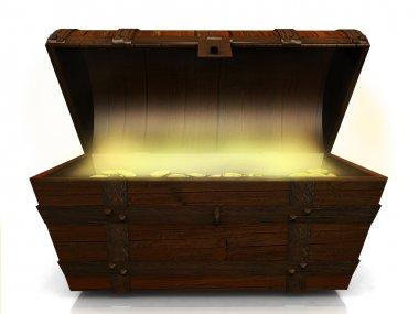 Old treasure chest.