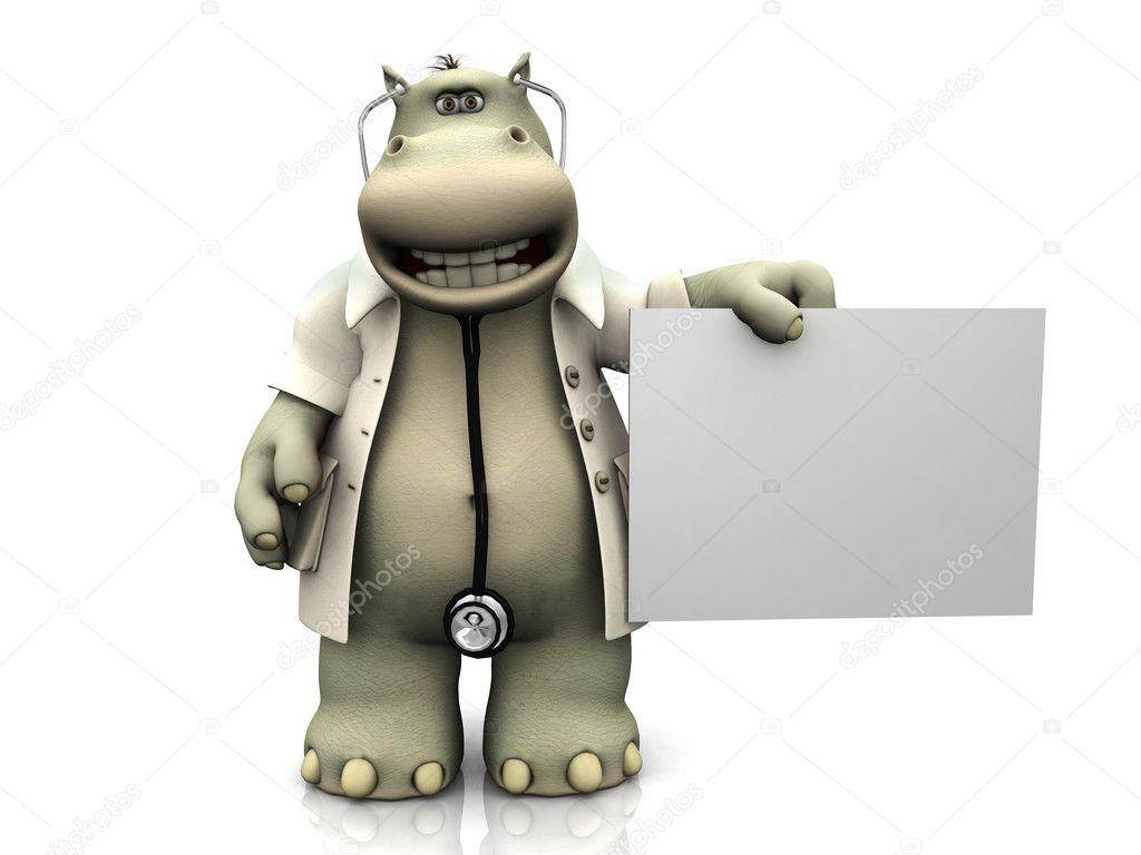 Доктор бегемотик картинка