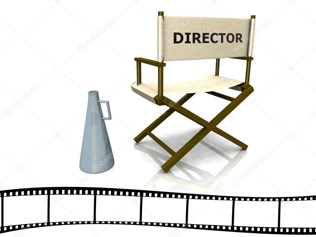 Silla de director fotos de stock sarah5 4225152 - Sillas director de cine ...