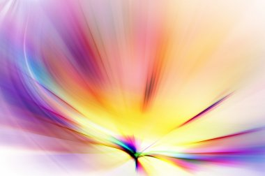 Abstract background in purple, pink and yellow tones.