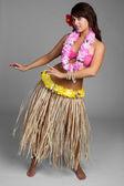 Hawaii-Hula-Mädchen