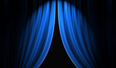 Theatre stage curtain