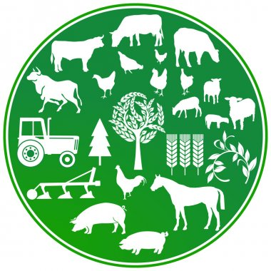Farming agriculture sign