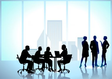 Team work, office workers