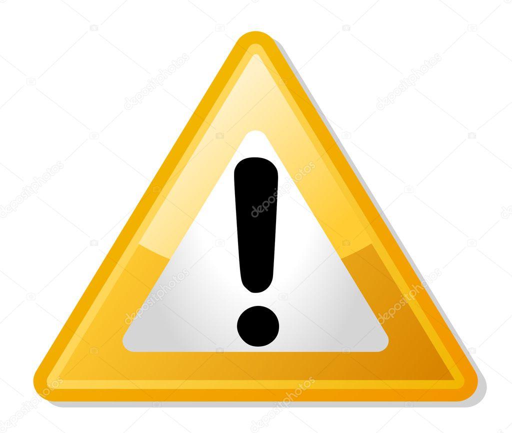 panneau de signalisation de point d 39 exclamation photographie speedfighter17 4348743. Black Bedroom Furniture Sets. Home Design Ideas