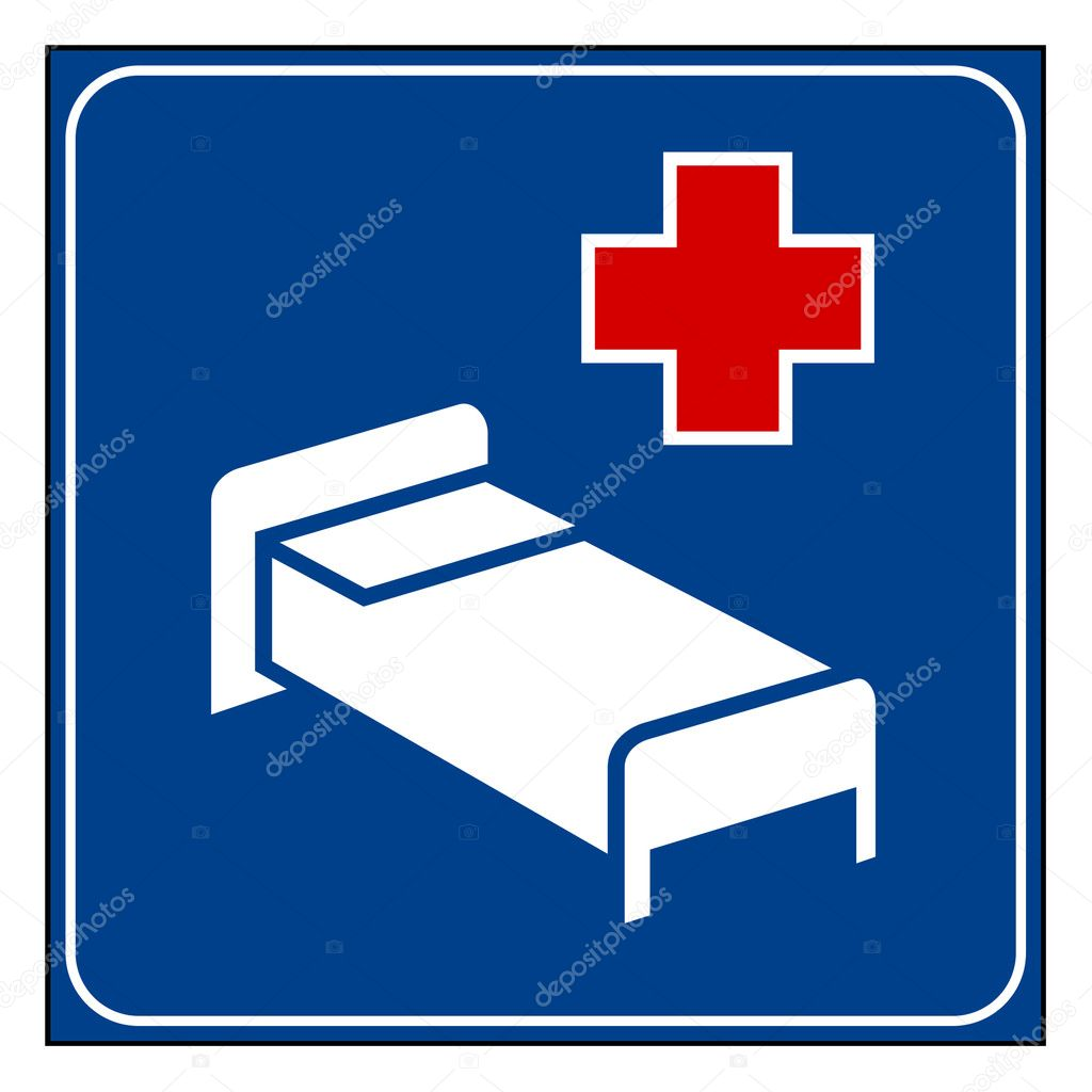 Hospital sign — Stock Photo © speedfighter17 #4906564