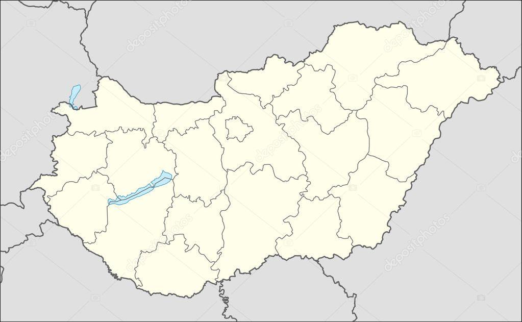 522ab298efdb Az ország Magyarország, Európa Térkép — Fotó szerzőtől speedfighter17