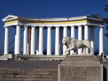 Odessa, Ukraine. Colonnade