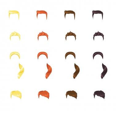 Male hair