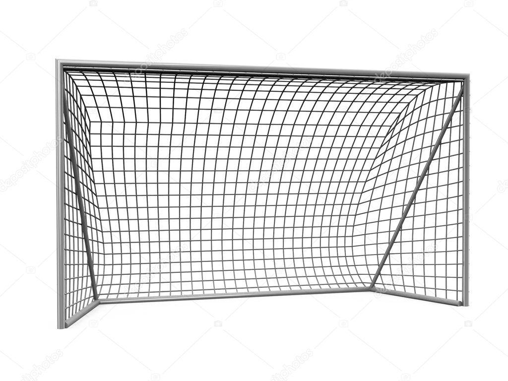 3d voetbal doelen stockfoto 169 iraidka 5276072