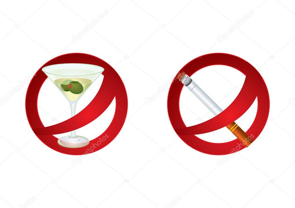 Give up bad habits