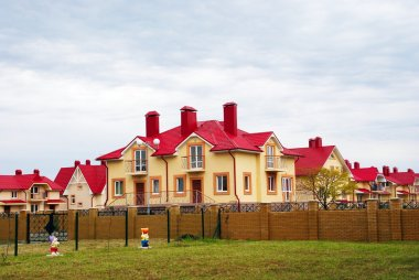 Inhabited houses, the village Nekrasovskoe, Sochi