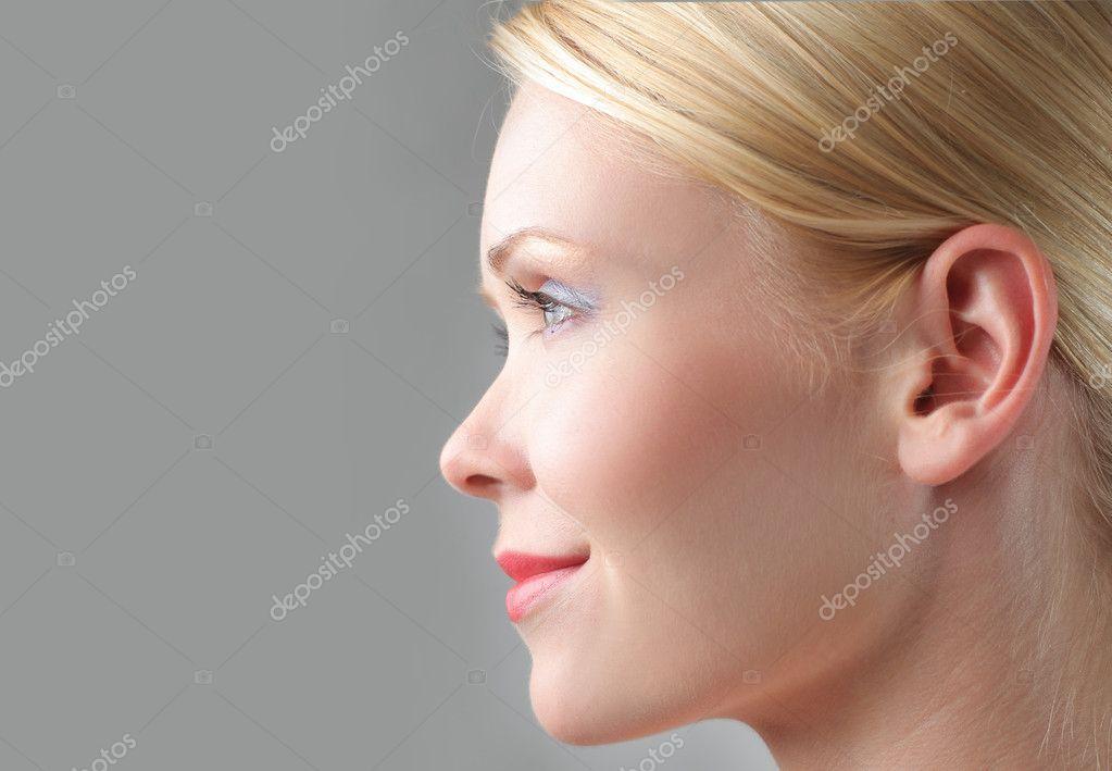 Perfect profile photo