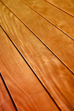 Background Texture of Wooden Floor or Deck