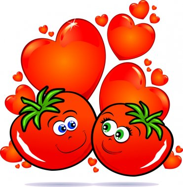 Tomatoes in love