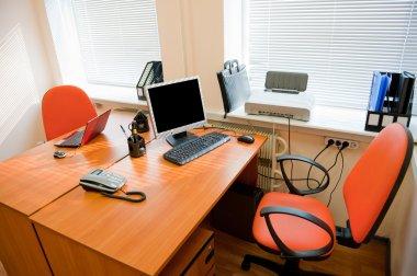 Modern office interior - workplace