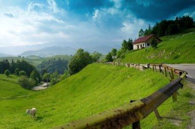Wonderful mountain landscape