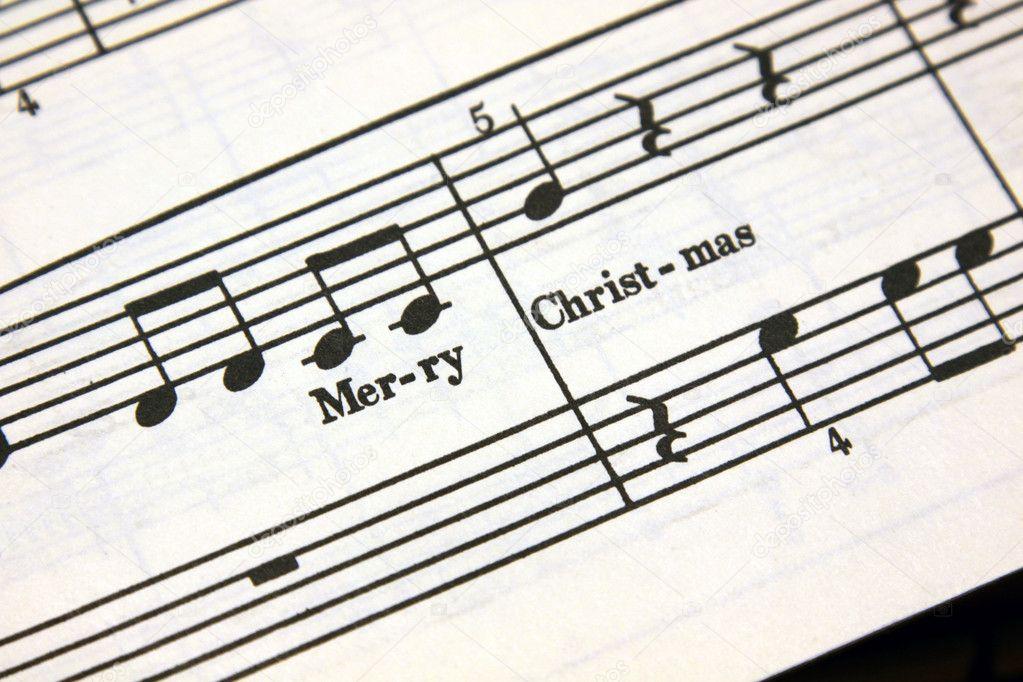 Frohe Weihnachten Musik.Frohe Weihnachten Musik Stockfoto Ca2hill 4342393