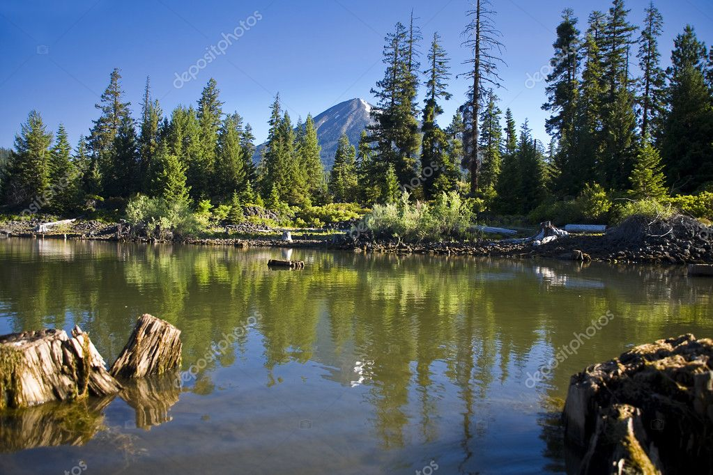 Fish lake oregon stock photo scamp65 5330018 for Oregon fishing license price