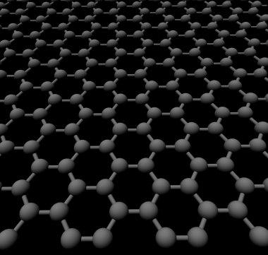 Graphite crystal lattice