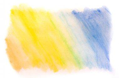 Water color gradient