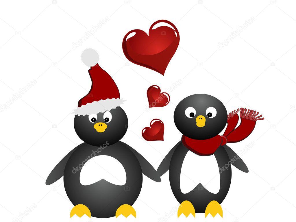 lovely penguin u2014 stock vector andreakaulitzki 3973808