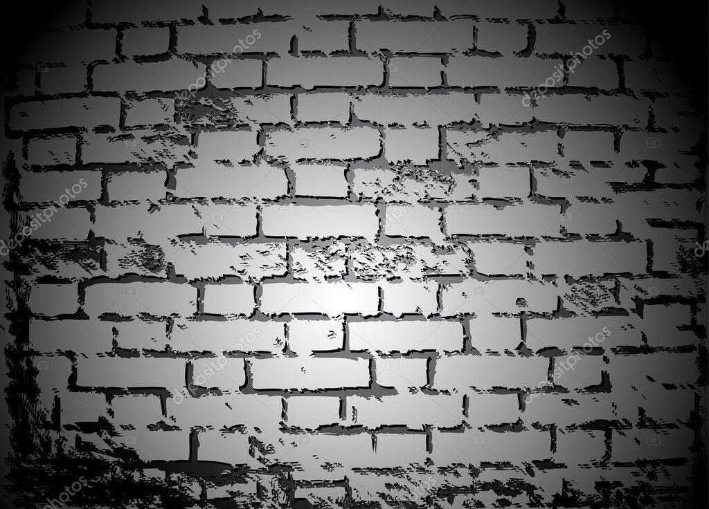 mur de briques noires et blanches vector image vectorielle emaria 4265924. Black Bedroom Furniture Sets. Home Design Ideas