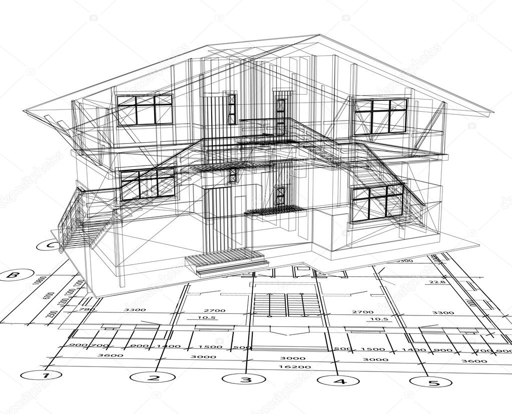 Architecture blueprints architecture blueprints fair inspiration architecture blueprints architecture blueprint of a house vector stock vector emaria malvernweather Images