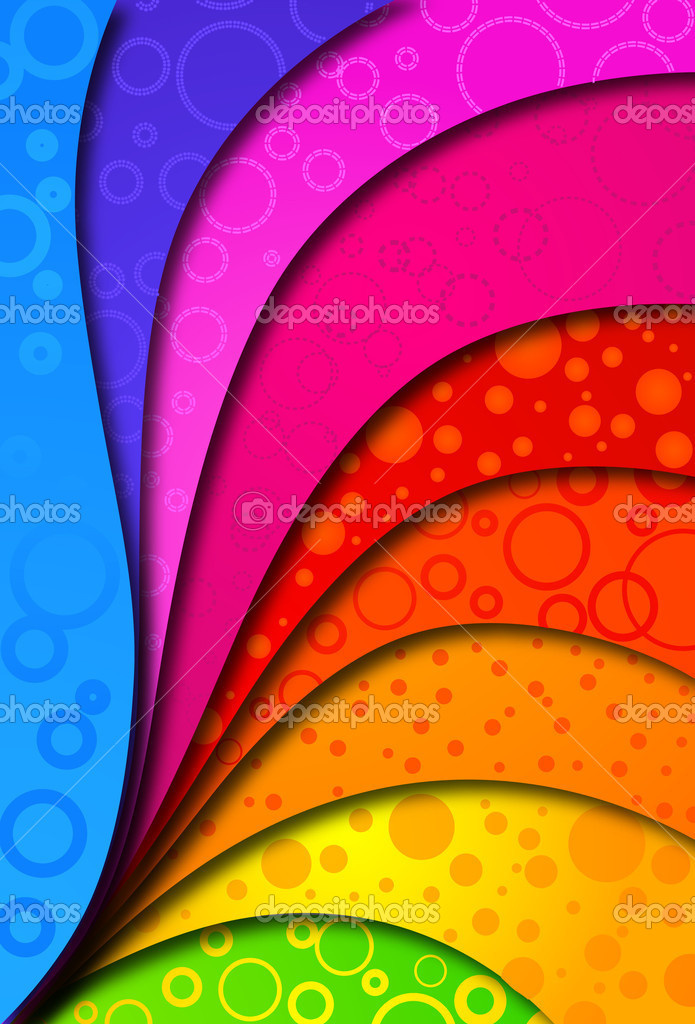 Abstract colorfull background for design. Vector